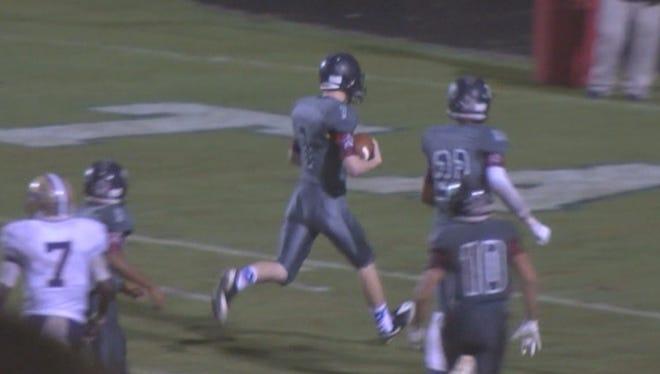 Logan's big football play becomes viral hit