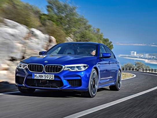 This undated photo provided by BMW shows the 2018 BMW