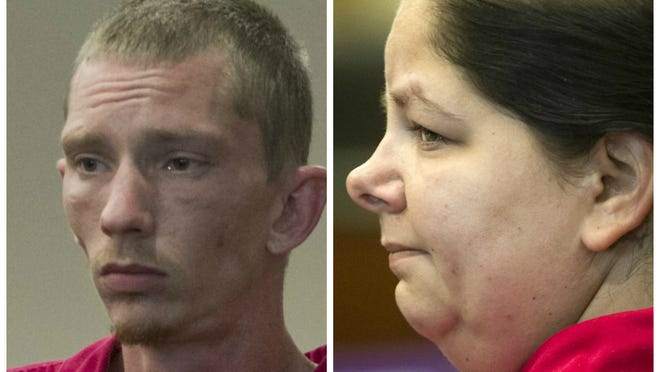 Rachel Davis and Cole Michael Thomas were living at the Covered Wagon RV Park in Estero with fictitious names, according to registration materials at the park.