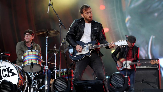 The Black Keys perform at the 2012 Global Citizen Festival in New York City.
