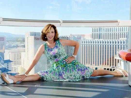 Comedienne Rita Rudner was also celebrating a birthday, and her new show at Harrah's Las Vegas, on Sept. 18.