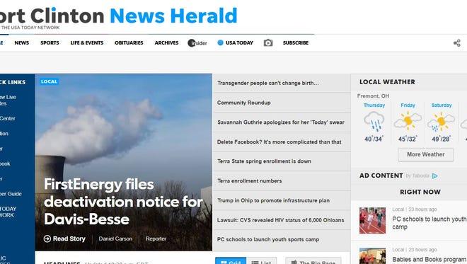 5 digital benefits of a News Herald subscription.