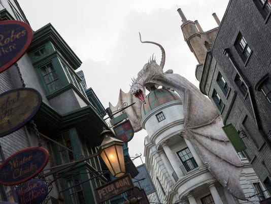 The Wizarding World of Harry Potter-Diagon Alley