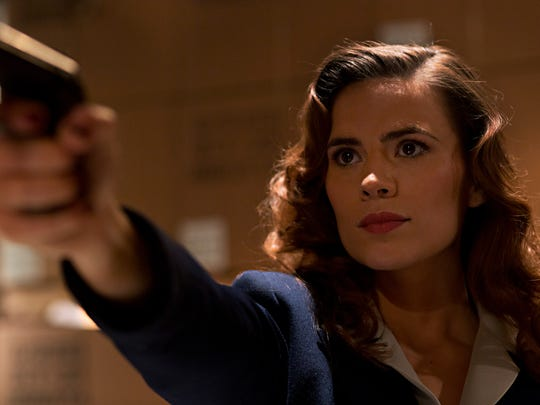 Haley Atwell plays Agent Peggy Carter in a new ABC series from Marvel.