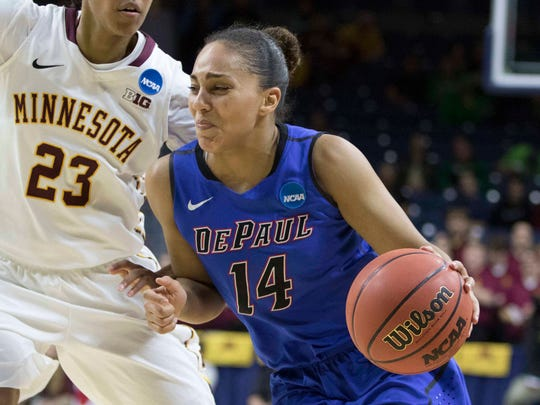 All-Big East selection Jessica January sparks the DePaul Blue Demons.