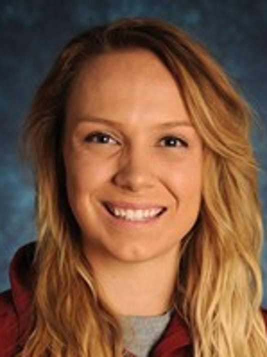New Mexico State volleyball player Gwen Murphy