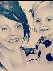A mother/daughter portrait by Erik Gunn.