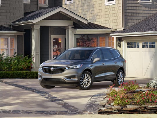 The 2018 Buick Enclave will be made in Lansing and