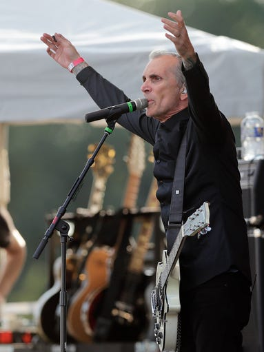 Everclear's lead singer Art Alexakis performs on Saturday,