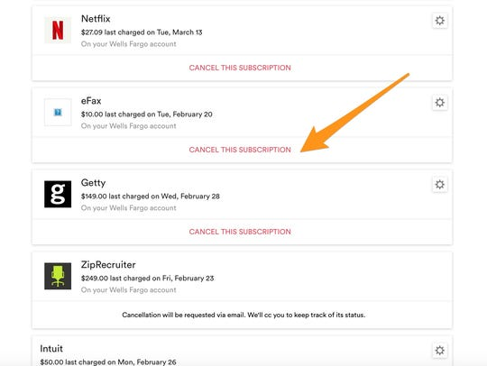 The app Trim helps you to cut subscription costs.