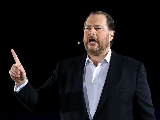 Salesforce loses money, but masters art of distraction