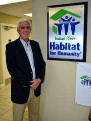 President/CEO of Indian River County Habitat for Humanity Andy Bowler at the main office in Vero Beach.