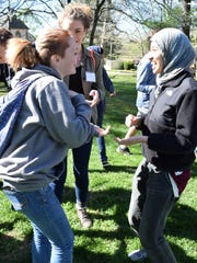 Teens participate in a previous Peace Summit. About 40 Christian, Jewish and Muslim teens are expected to attend the interfaith program being held this year at Otey Memorial Parish Episcopal Church in Sewanee, Tenn.