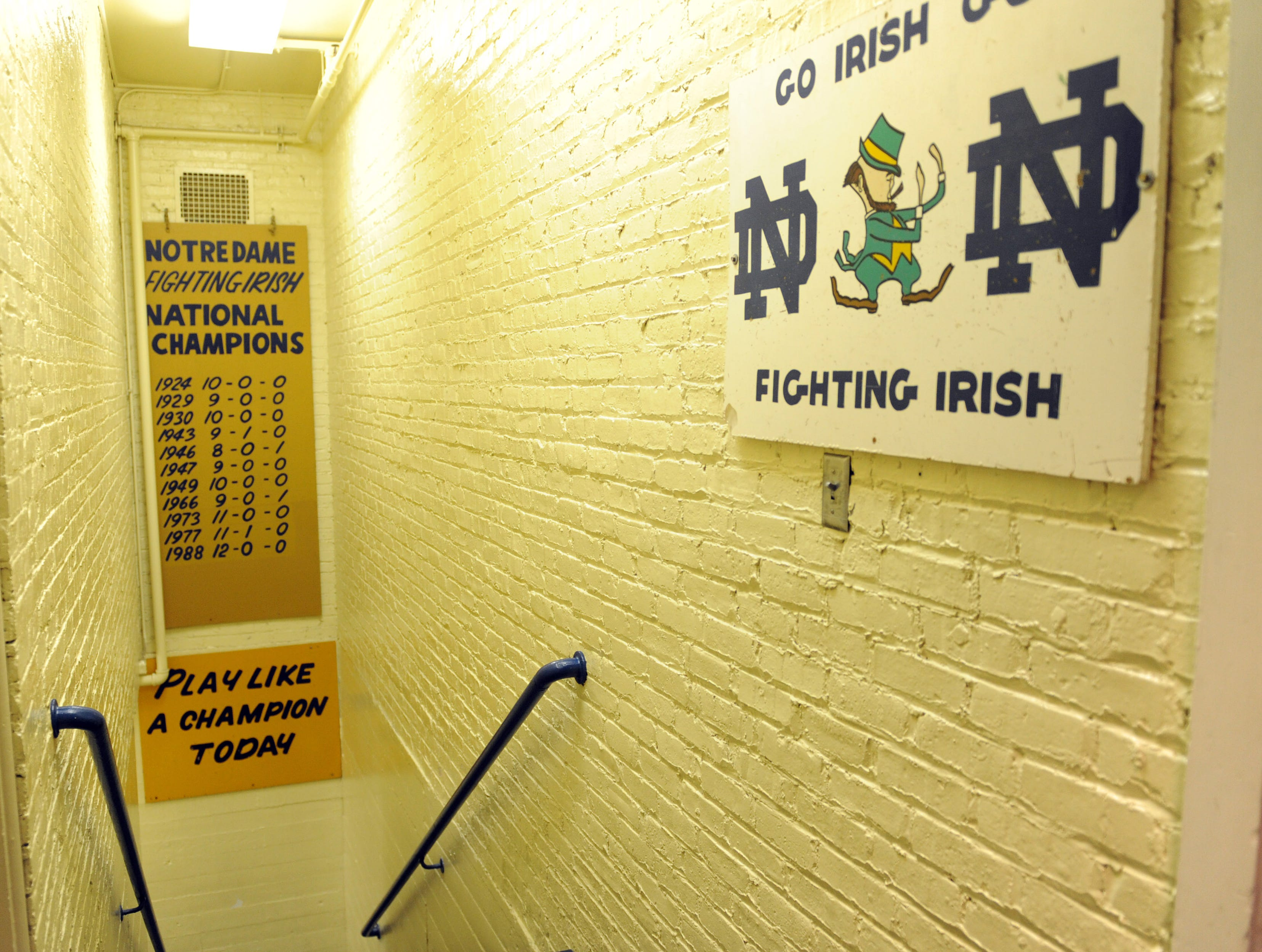 Notre Dame Stadium, Notre Dame: History greets you before you step foot in the stadium that is home to one of the game's most storied programs.