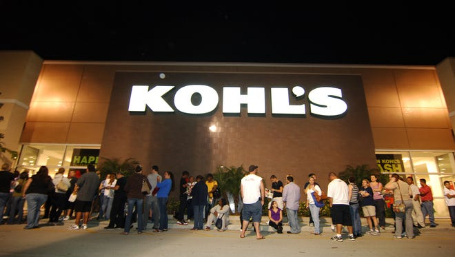 Kohl's will open 5 p.m. Thanksgiving for its Black Friday sale.