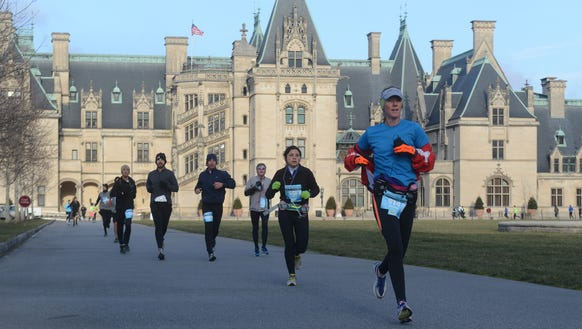 About 1,300 runners braved extreme weather conditions