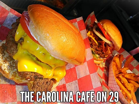 Big portions await at The Carolina Cafe on 29 across