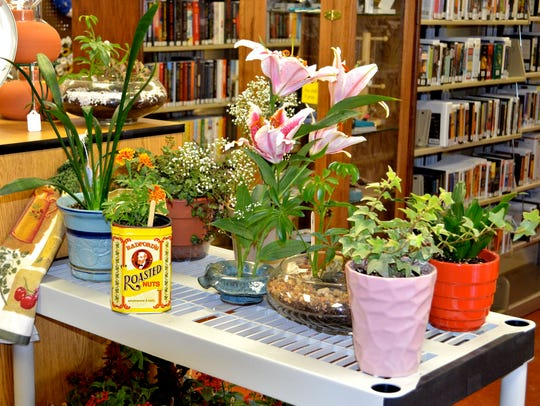 The annual Plant and Garden Sale offers one-of-a-kind
