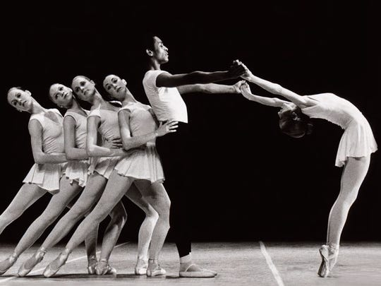 """Concerto Barocco"" was the first performance of a George Balanchine ballet by the company."