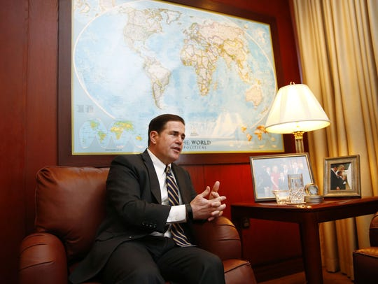 Arizona Gov. Doug Ducey discusses the state budget