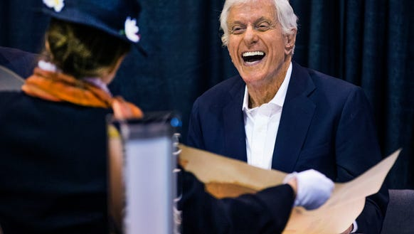 Comedy legend Dick Van Dyke meets Mary Graeber, 56,