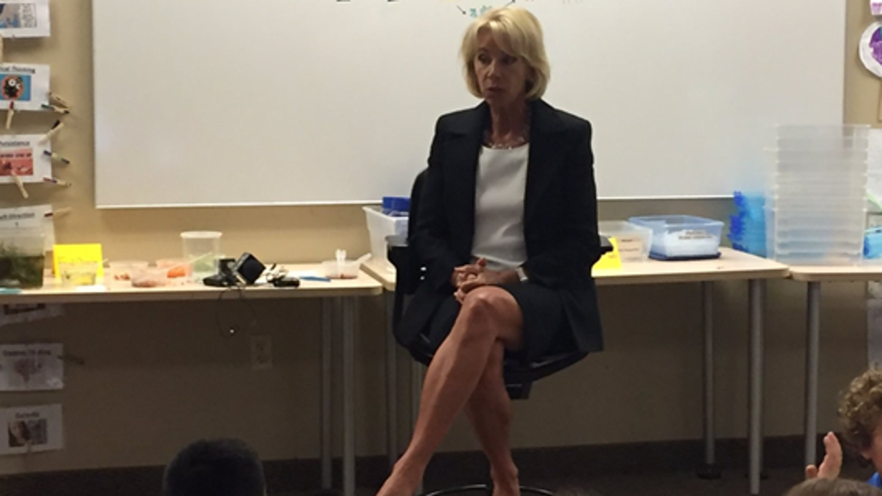 What Betsy Devos Calls Education >> Devos Calls Questions About Special Olympics Cut Disgusting