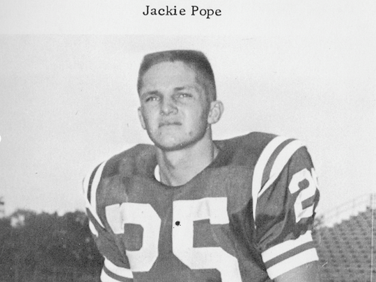 Former Oak Ridge star Jackie Pope in the 1950s. Pope,