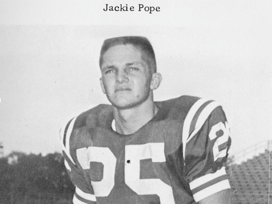 Former Oak Ridge star Jackie Pope in the 1950s. Pope,