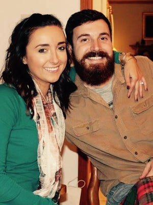 Stacy Norcross and Jarrod Headley