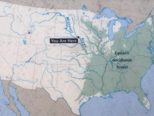 You Are Here: Ponca State Park is folded into Nebraska's
