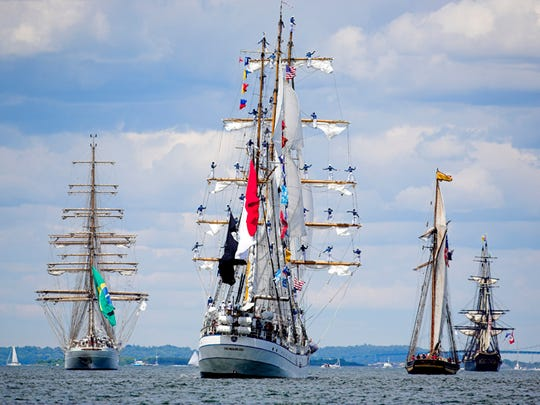 Downtown will be the place to be this weekend as The Tall Ships Pensacola Festival sails into town. Ship tours are on a first-come, first-served basis from 10 a.m. to 6 p.m. Friday, Saturday and Sunday.