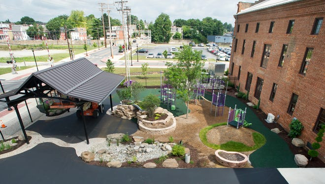 York Academy Regional Charter School, playground shown here, could soon be renewed for five more years.