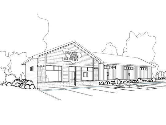 A concept drawing of the proposed new facility for