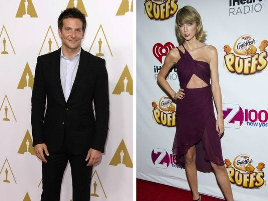 Bradley Cooper, Taylor Swift