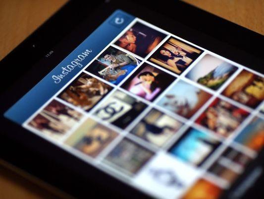 Instagram app.