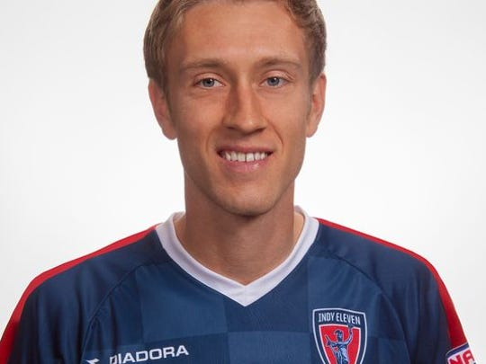 Brad Ring is a midfielder for the Indy Eleven.
