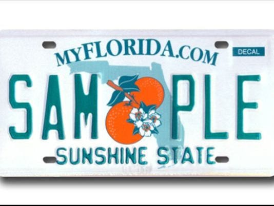 Florida License Plates Covering Any Part Of License Plate Can Cost