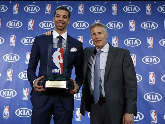 Carter-Williams shocked by Sixers trade