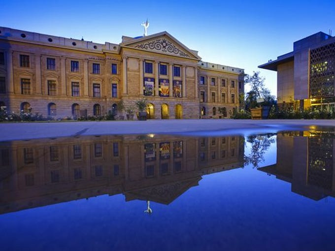 The budget agreement between Gov. Doug Ducey and Republican