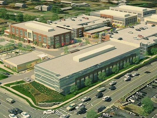 Rendering of HIll Center Brentwood