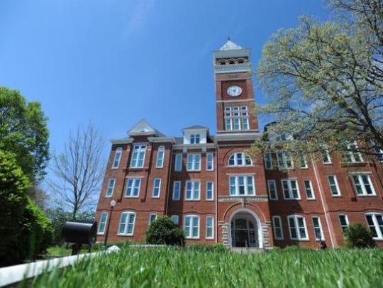 Clemson campus