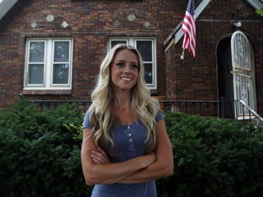 Nicole Curtis of Rehab Addict on the DIY Network in