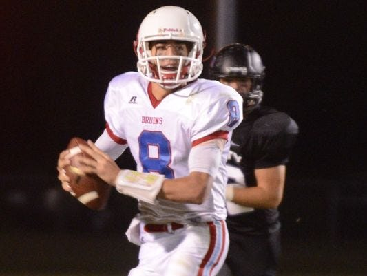 Easton Underwood was the All-West Tennessee first team quarterback this past season after leading the Bruins to a runner-up finish in Division II-A West.