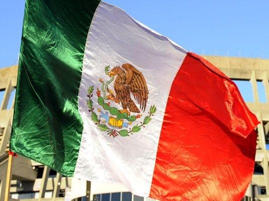 Mexico's flag.