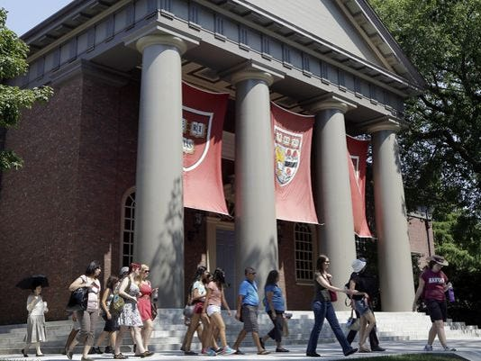 Asian-American groups accuse Harvard of racial bias in admissions