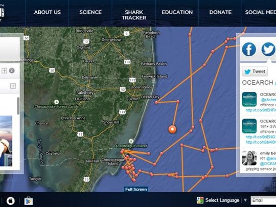 A screenshot of the OCEARCH website shows Mary Lee's