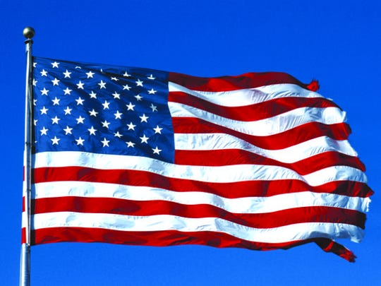 Flag Day is celebrated on June 14.