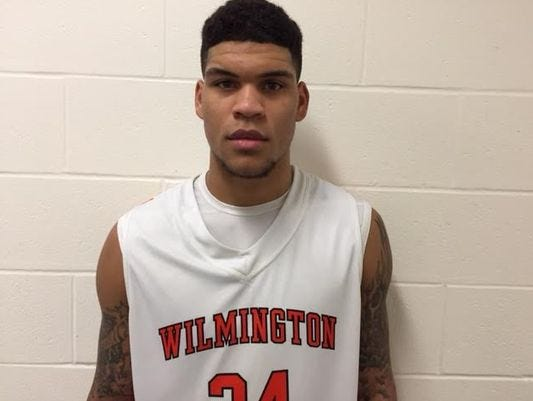 Wilmington guard Jarron Cumberland is playing in the Nike Global Challenge today.