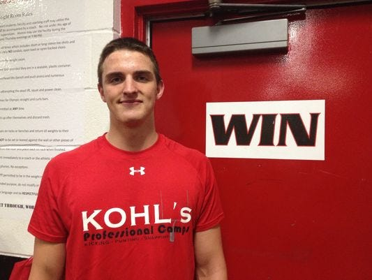 La Salle punter Drue Chrisman will play in the U.S. Army All-American Bowl in January.