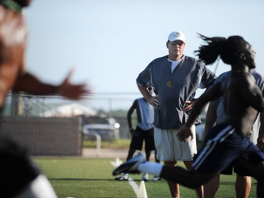 Randy Butler, who was named the head football coach at Oak Grove in May, is likely not going to be approved by the LCSD board.